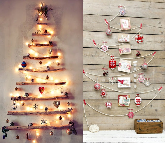 Christmas tree lights, christmas decorating ideas, string Christmas tree
